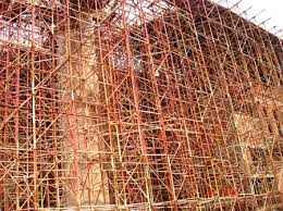 Giàn giáo PL cung cấp giàn giáo XD dựng tại dự án chùa