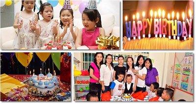 Để có một bữa tiệc sinh nhật thành công
