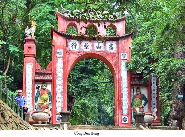Khi một bộ phận người lớn hỏi đền Hùng ở đâu ?