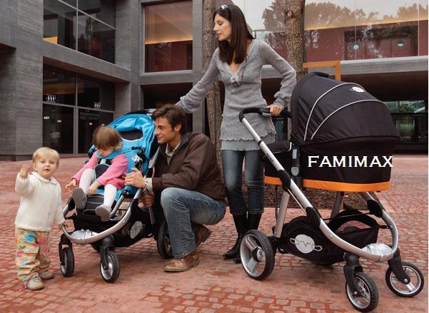 Đặc điểm của xe đẩy Combi cho bé