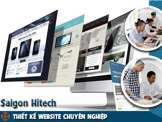 Công ty thiết kế website Saigon Hitech sự lựa chọn hoàn hảo cho doanh nghiệp